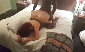 Girl with huge ass fucked in doggystyle