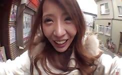 Japanese scat selfie