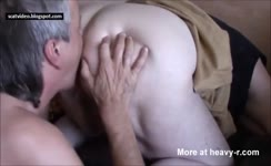 Granny needs her asshole cleaned